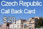 Czech Republic Call Back Card