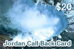 Jordan Call Back Card