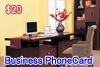 Click to see detailed information for  Business Phone Card